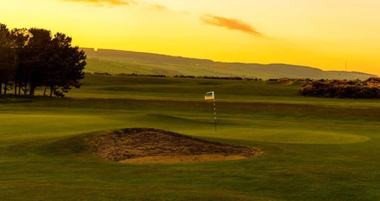 Fortrose & Rosemarkie Golf 7th Green