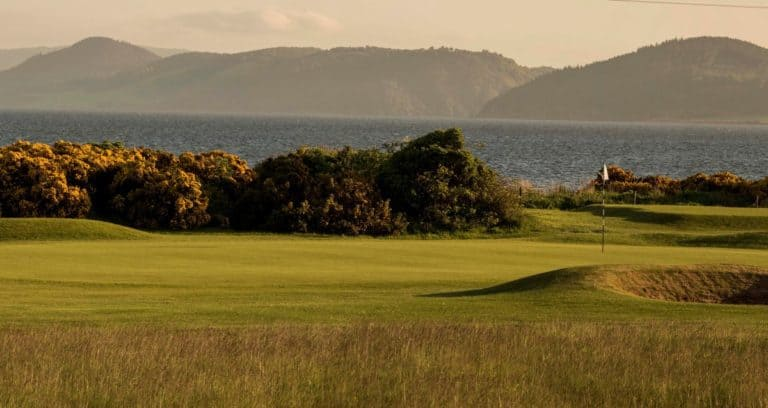 Fortrose & Rosemarkie Golf 8th hole