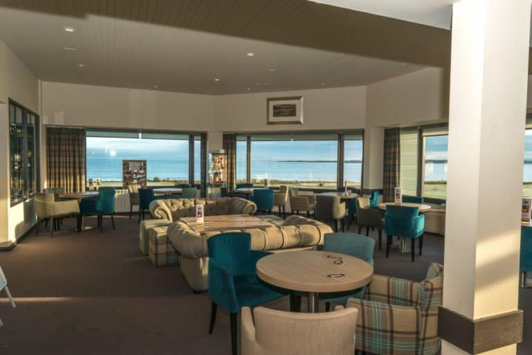 Club House overlooking Cromarty Firth