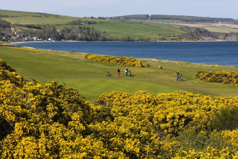 Fortrose & Rosemarkie Golf Club - Hole 1