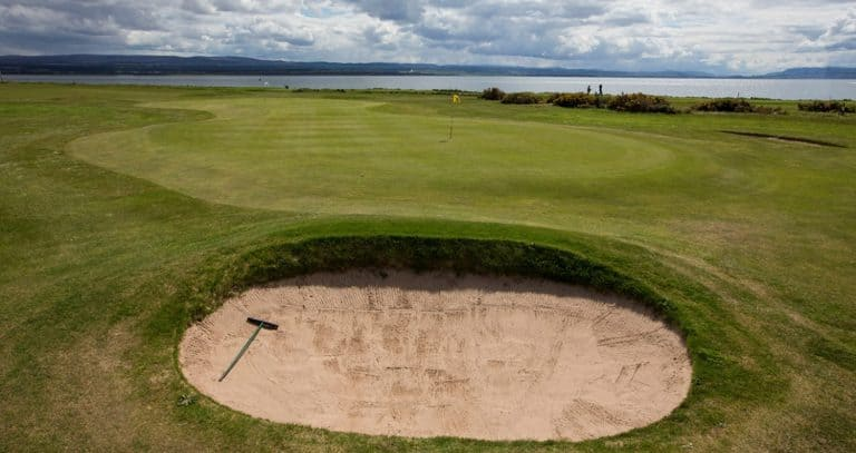 Fortrose Golf Club 11th and 6th Green