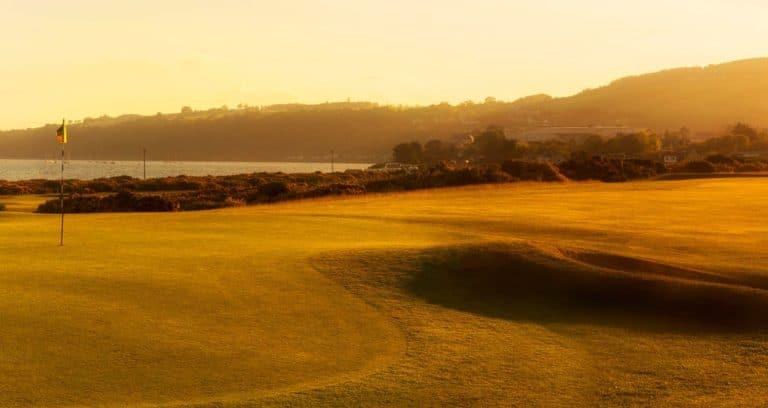 Fortrose Golf Links 10th Green