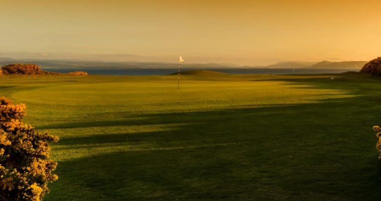 Fortrose Golf Links - 9th Green