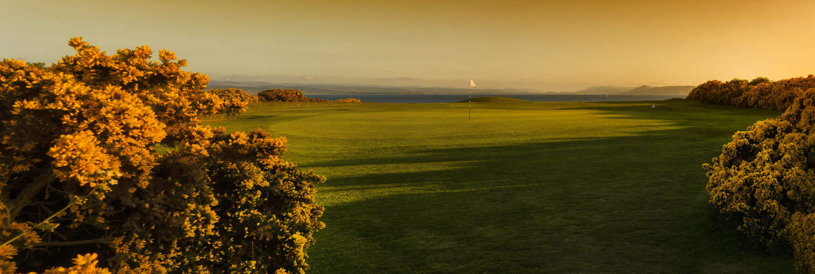 Fortrose Golf Links Panorama